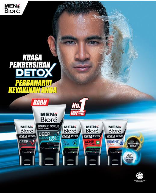 Men's Biore Malaysia Detox Power Cleansing Free Sample Giveaway 28 July - 27 October 2016 | HARGA RUNTUH