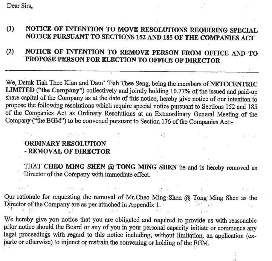 Nuffnang & Churp Churp Former CEO Cheo Ming Shen Sues
