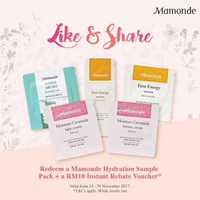 Mamonde Hydration Free Sample Pack Giveaway Promo.jpg