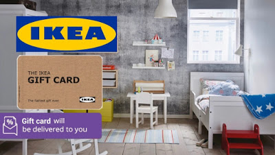 IKEA Gift Card Half Price Discount Offer Promo