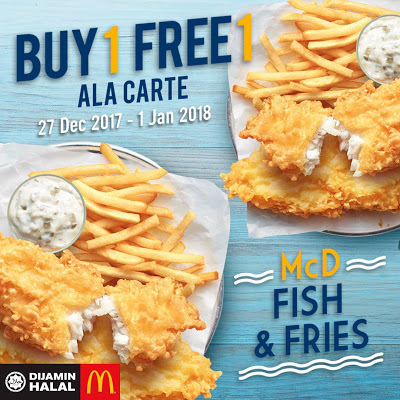 McDonald's Buy 1 Free 1 Fish & Fries Promo