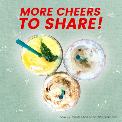 2 Starbucks Venti Beverages for RM30 Promo