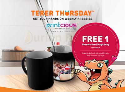 My U Mobile App FREE Personalized Magic Mug Grab Voucher