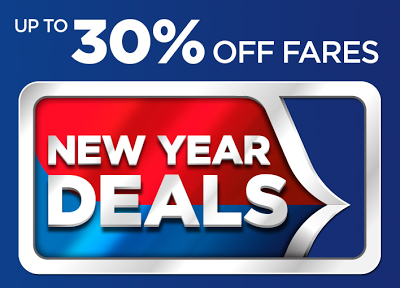 Malaysia Airlines New Year Deals
