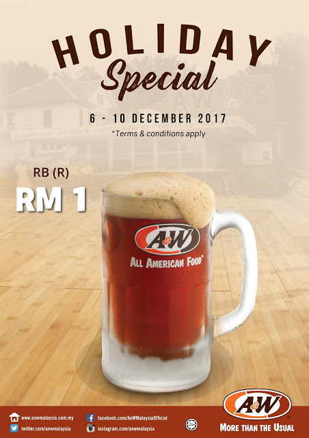 A&W Root Beer RM1 RB Promo