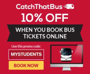 CatchThatBus Promo Code 10% Discount Bus Ticket Online Web