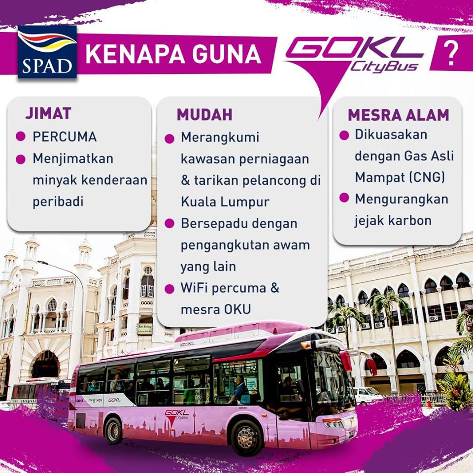 Go KL City Bus Free Bus Services Schedule Bus Routes Map Kuala