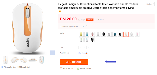 EZbuy.my FREE RM15 Shopping Voucher & 15% OFF Shipping (New Sign Up)